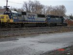 EB CSX Manifest Freight about to enter DeWitt Yard